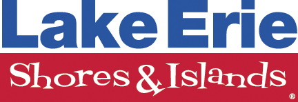 Lake Erie Shores+Islands Blue Red LESI Logo 6