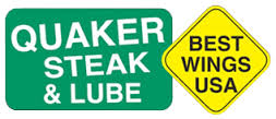 Quaker Steak+Lube logo